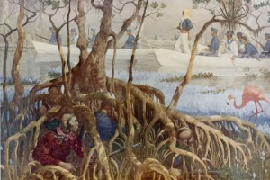 painting of the Seminole Wars